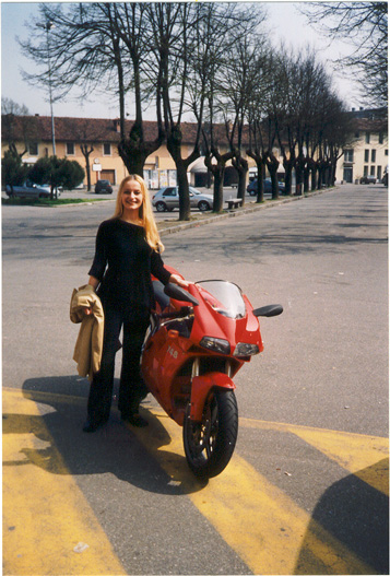 Me and  Ducati 748