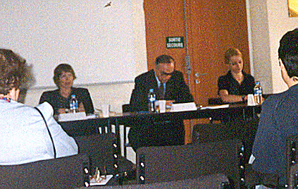 me at Populism and Society Conference in Paris, may 27/29 2001