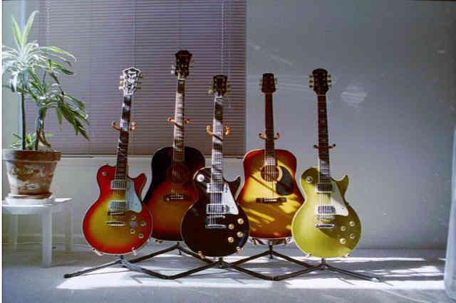 NCB guitar collection