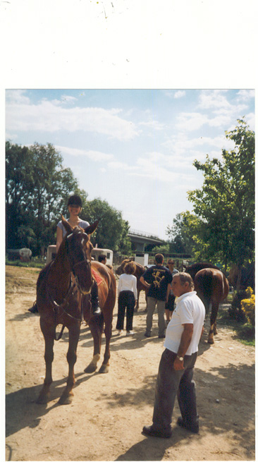 me riding Cisco, May 2001